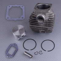LETAOSK 50mm Metal Piston Cylinder Assembly Kit Fit for Stihl 044 MS440 Chainsaw Rebuild