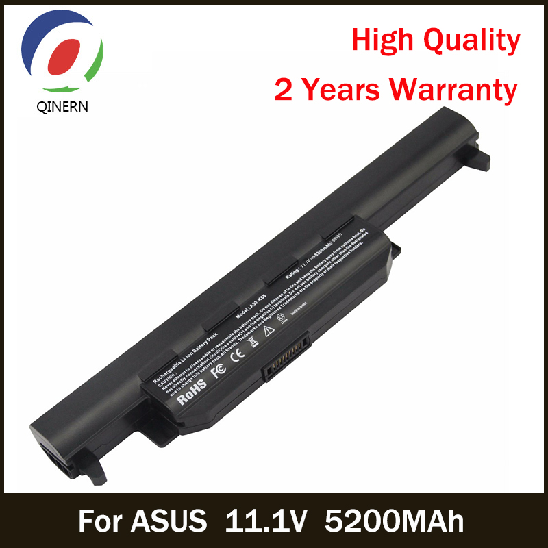 QINERN 11.1V 5200MAh Battery For ASUS Laptop SA-K55 Laptop Battery For ASUS K45 Series ASUS K45D K45DE K45DR free shipping new 15 2v 64wh genuine b41n1341 battery for asus asus q502l q502la series laptop