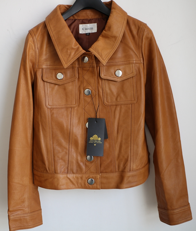 Popular Brown Leather Jacket Women Cheap-Buy Cheap Brown Leather