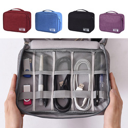 1 Pcs Digitals Kit Bags Travel Waterproof Cable Organizer Gadget Storage Bag Electronics Devices Accessories Cases