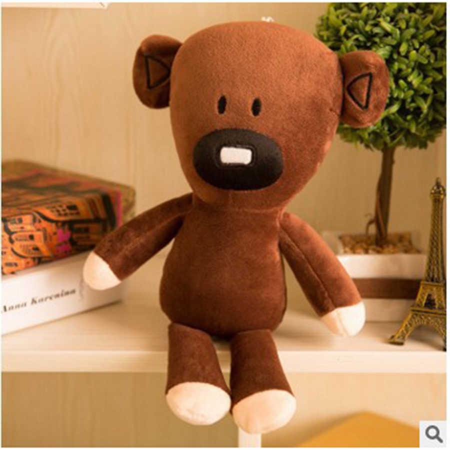 30 centimetri Movie Mr Bean Teddy Bear Carino Peluche Ripiene Giocattoli Mr. bean Teddy Bear Giocattoli di Peluche Per Bambini Regali Di Compleanno Presente