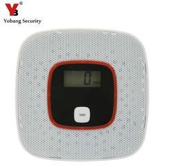 Yobang безопасности CO детектор безопасности дома охранная сигнализация ЖК-фотоэлектрический CO газ датчик отравления угарным газом детектор т...