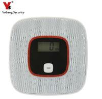 FDL CO Detector Home Security Safety Alarm LCD Photoelectric Independent CO Gas Sensor Carbon Monoxide Poisoning
