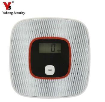 Yobang bezpieczeństwa CO detektor Strona główna Bezpieczeństwo Bezpieczeństwo alarm LCD fotoelektryczny CO czujnik gazu zatrucie tlenkiem węgla detektor alarmu tanie i dobre opinie Detektory tlenku węgla FDL-616 Tworzywo ABS inne tworzywo sztuczne