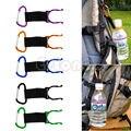 Новое поступление 2017  цветной держатель с крючком и пряжкой для бутылки воды  зажим для путешествий  кемпинга  пеших прогулок