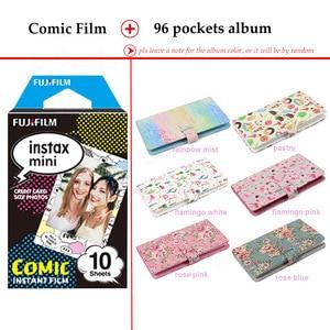 Image 2 - Fujifilm Instax מיני סרט קומיקס 10 גיליונות עבור Instax מיני 9 8 7 s 7c 70 90 25 מיידי Polariod מצלמה Smartphone מדפסת SP2 1