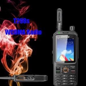 Image 3 - Bộ Đàm 50 Km Mạng 2 Chiều Đài Phát Thanh T298S WCDMA GPS SIM Điện Thoại Di Động Radio UHF Analog 400 470Mhz Cầm Tay