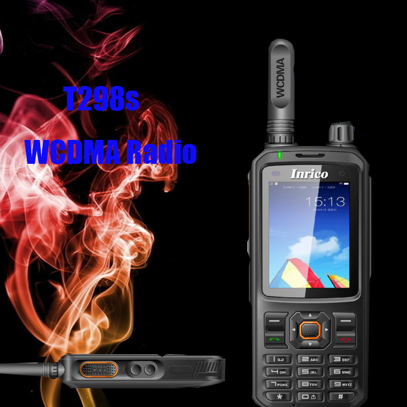 Image 3 - walkie talkie 50 km network two way radio T298S WCDMA GPS SIM Card mobile phone radio UHF analog 400 470mhz portable radio-in Walkie Talkie from Cellphones & Telecommunications