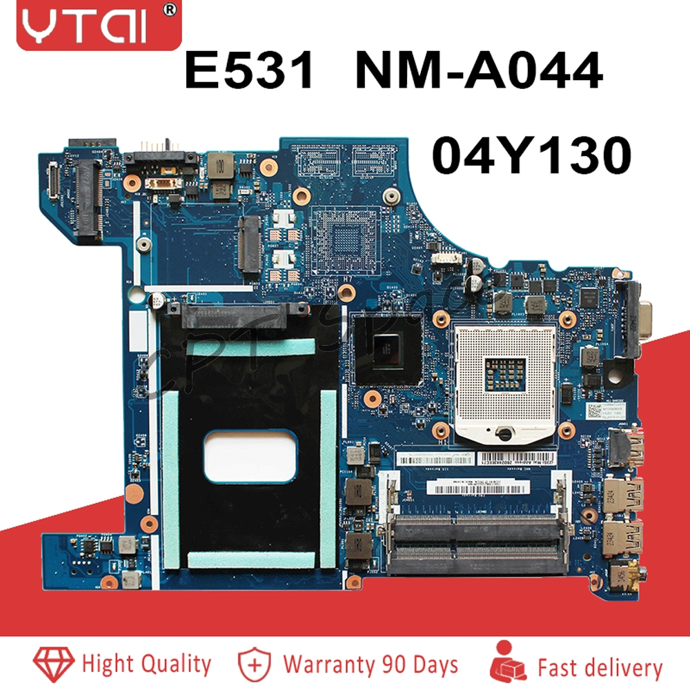 E531 Motherboard For Lenovo Thinkpad Edge E531 Laptop Motherboard VILE2 NM-A044 04Y1300 04Y1299 04Y1298 HM77 GMA HD4000 DDR3