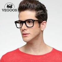 VEGOOS nowy handmade woody octanu okularów ramki ramki dla mężczyzn moda gatunku projektanta okulary kobiet Okulary optyczne # 6106B