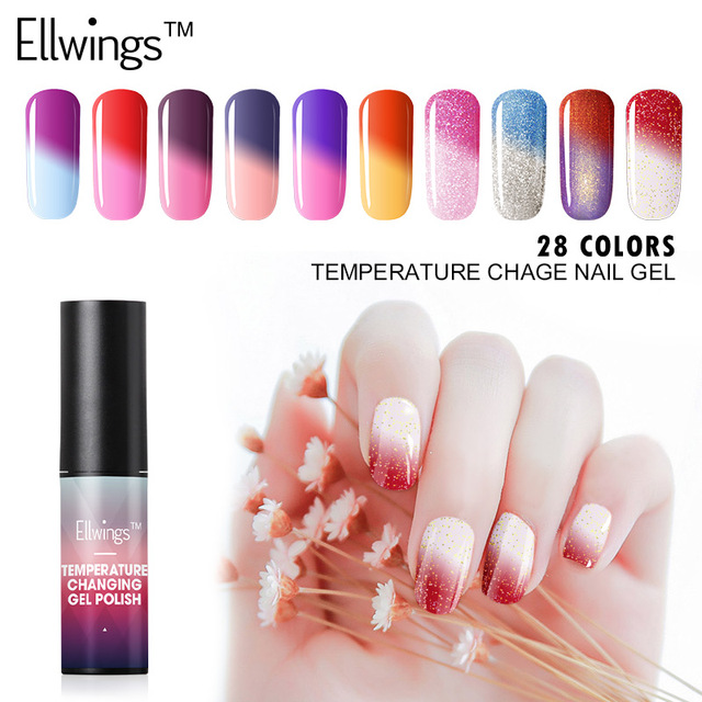 Aliexpress Buy Ellwings Hybrid Gel Paints Temperature Changing