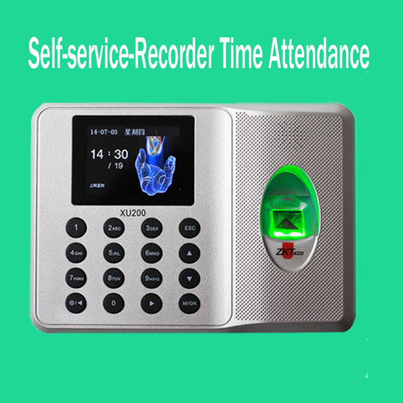 Zk SSR Fingerprint Time Clock Auot Excel Report Fingerprint Time Attendance Employee Electronic Time Recorder No Need Software facial fingerprint employee time attendance zk uf100 tcp ip face time attendance system with free software in stock fast deliver