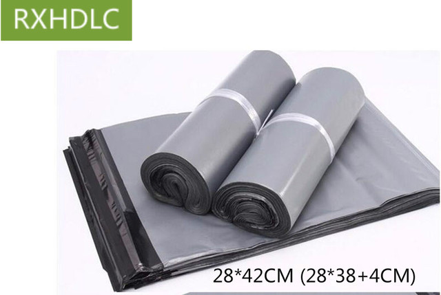 Gray Grey Color Poly Mailer Plastic Shipping Mailing Bags Envelopes Pouches Strong Seal Postage