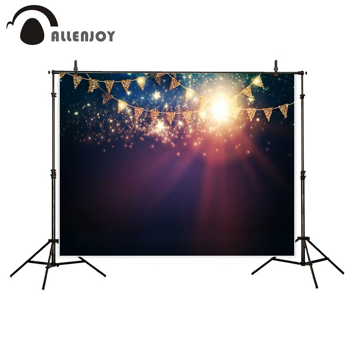 Allenjoy newborn photography background bokeh golden flags glitter stars Halo photobooth backdrop photographic allenjoy photography background blue red abstract christmas background golden stars glitter bokeh lights backdrop photo studio