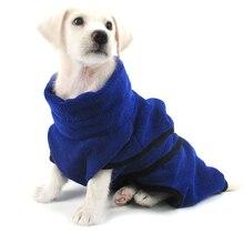 Szuperfinom szálas törölköző Gyors száraz macskafülke törölköző Super Absorbens kutya Fürdőköpeny kutyás fürdő Meleg ruhák Gyorsan száradó törölköző pet törölköző