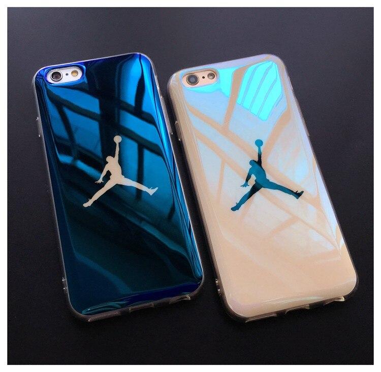 more photos f5e58 eca0d Flyman Jordan Blue-Ray Soft Rubber Case For Iphone