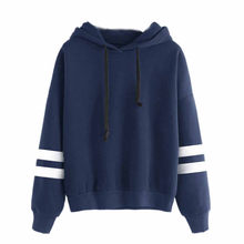 2 Colors Women Long Sleeve Hoodie Sweatshirt Fleece Jumper Hooded Pullover Tops Autumn Winter Casual Hip Hop Tracksuit #Z5(China)