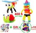 400 unids Montaje 3D Rompecabezas Niños Juguetes Educativos DIY Bola Del Soplo Apretó Forma Variedad Creativa Rompecabezas Juguetes Hechos A Mano Para Los Niños