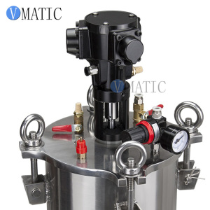 Image 3 - Free Shipping Pneumatic Mixing Stainless Steel Air Pressure Glue Dispensing Pressure Tank/Pressure Container