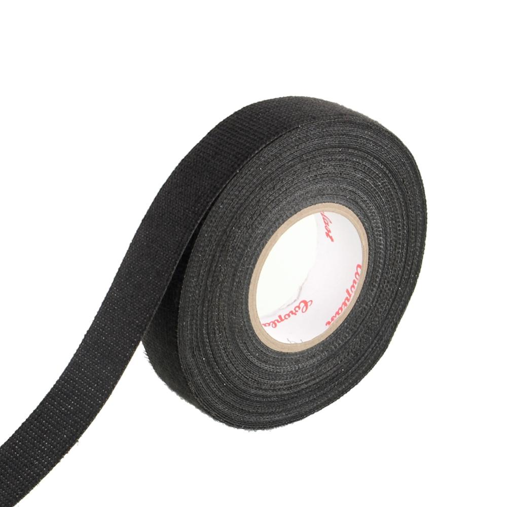 Wiring Loom Harness Adhesive Cloth Fabric Tape : Hot adhesive mmx m cloth fabric tape looms wiring harness for car in fuses from