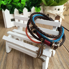 Anime Death Note Braided PU Bracelet Wristband