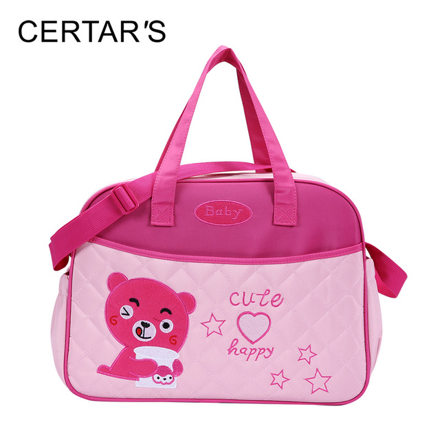 Certar S Fashion Baby Diaper Bags Mother Tote Bag Animal Bear Large Capacity Ny Multifunction Changing Messenger