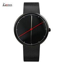 2017 estilo fresco reloj Enmex regalo creativo dos equilibrio manos con escala Fina ocasional de cuero correa de reloj de cuarzo de moda