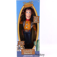 Toy Story Woody The Sheriff Talking Speaking Action Figure PVC Collectible Model Toy Gift For Kids