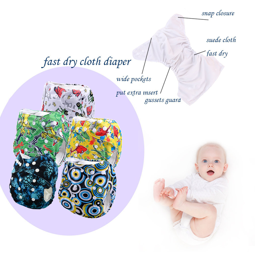 wholesale cheap cloth diapers online neednt search the best price this is you want cloth nappies(5 pcs Cover)