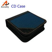A Ausuky Portable 40 Disc Capacity DVD CD Case controller pencil  for Car Media Storage CD storage Bag -20