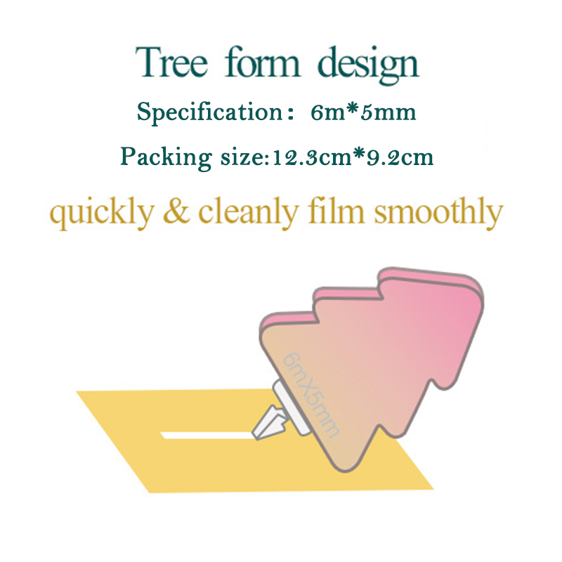 Novelty Tree Correction Tape Amendment Correction Stationery For Children Kids Gift Office And School Supplies 6m 10pcs/lot