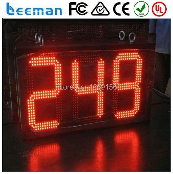 Leeman 3 цифры горячие продаж 7 - сегментный высокое качество стадион 5 дюймов 3 цифровой синий крытый таймер обратного отсчета из светодиодов countup дисплей