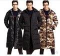 Бесплатная доставка!! человек с длинными пуховик Мужской новый зимний утолщение более-колено большой ярдов вниз куртка, чтобы согреться пальто