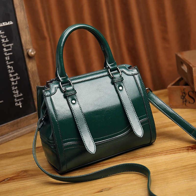 Vintage fourre-tout en cuir véritable femmes sacs à main de haute qualité multi-fonctionnel femmes sacs en cuir Mochila Bolsas décontracté nouveau T49