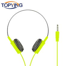Wired Headphone 3.5mm Straight Plug Wired Stereo Music Headphone Sport Headphone For Iphone Android Xiaomi oyk ok 400 3 5mm wired stereo headband headphone lemon yellow silver