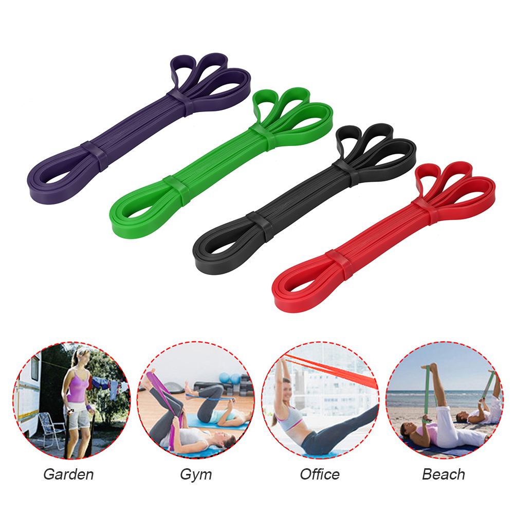 Workout Loop Band Pull Up Assist Band Stretch Resistance Band Powerlifting Bodybulding Yoga Exercise Fitness Assist Mobility