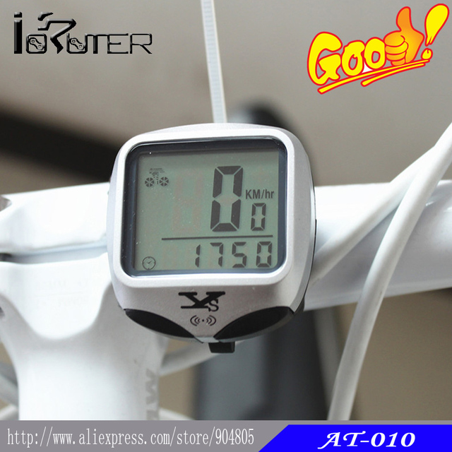 Cycling Bicycle Bike LCD Wireless Computer Odometer Speedometer With Back Light