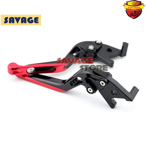 ФОТО For SUZUKI UX-150 Sixteen UH 125 150 200 Burgman Red Motorcycle Extending Brake Clutch Levers extendable CNC Aluminum