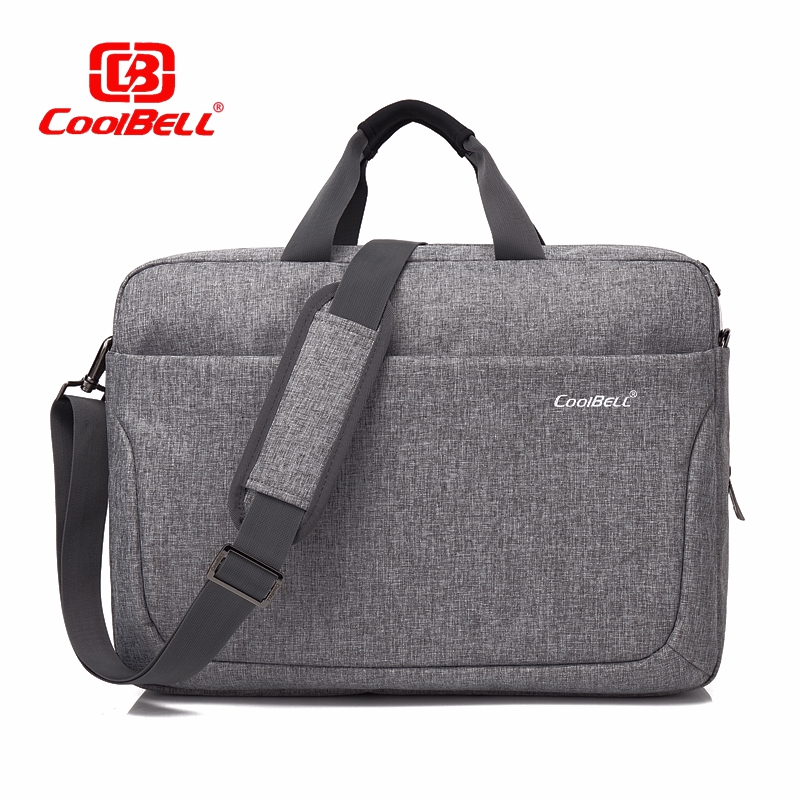 Cool Bell Men's Women Bag 17.3 inch Top-Handle Bag Lady Handbag Male Shoulder Messenger Bag Business Tote Bag Fashion Briefcase coolbell fashion women tote bag 15 6 inch laptop handbag nylon briefcase classic laptop bag shoulder bag top handle bag