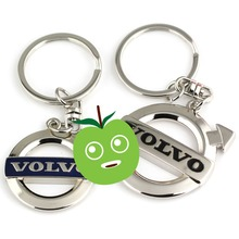 Car styling Alloy keychain Key ring For Volvo XC60 XC90 V40 V60 S60 S90