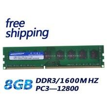 KEMBONA ذاكرة عشوائيّة للحاسوب المكتبي RAM DDR3 8GB 1600MHz PC3 12800 Non ECC 240 دبوس DIMM ميموريا فقط ل A M D اللوحة الأم