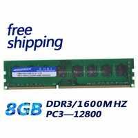 KEMBONA desktop di memoria RAM DDR3 8 GB 1600 MHz PC3-12800 Non ECC 240 Spille DIMM memoria solo per A-M-D scheda madre
