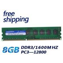 Kembona Để Bàn RAM DDR3 8GB 1600MHz PC3 12800 Không ECC 240 Pin DIMM Memoria Chỉ Cho A M D Bo Mạch Chủ