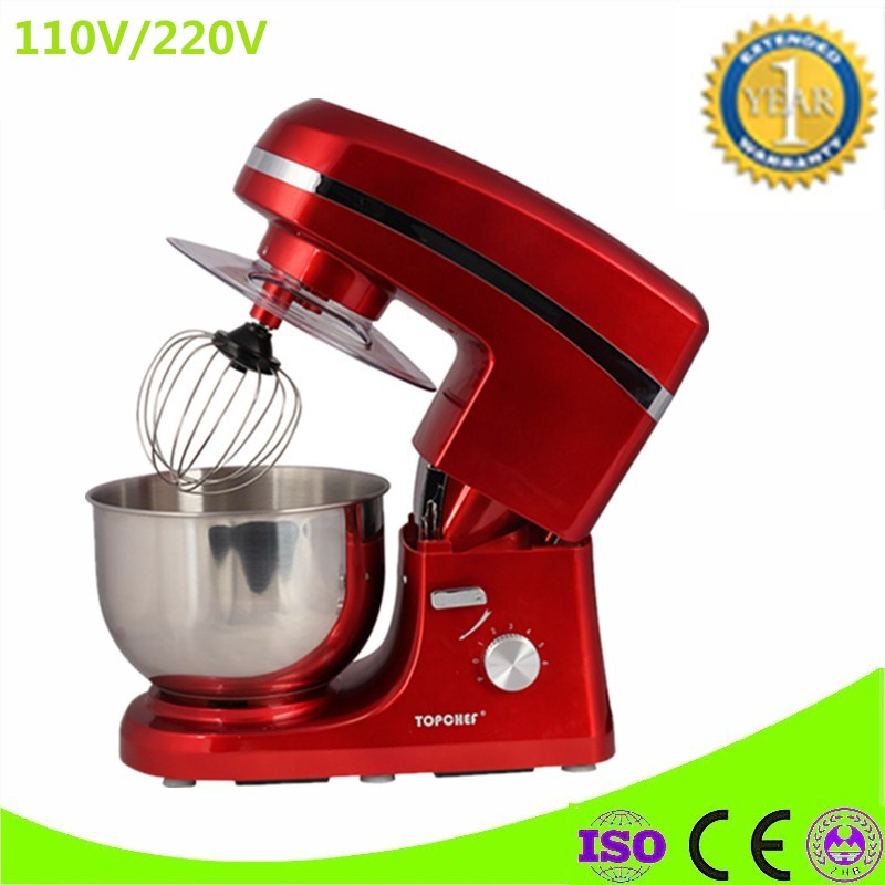 Brand New Electric 5L Chef Home Kitchen Cooking Food Stand Mixer, Cake Egg Dough Bread Mixer Machine kitchen slice of bread cake separators white green 2 pcs