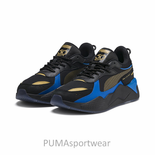 346278a31 US $63.0 5% OFF|Hot Sale New Arrival PUMA RS X HOT WHEELS Unisex Sports  Men's and Wome's Sneakers Badminton Shoes Size36 45-in Badminton Shoes from  ...