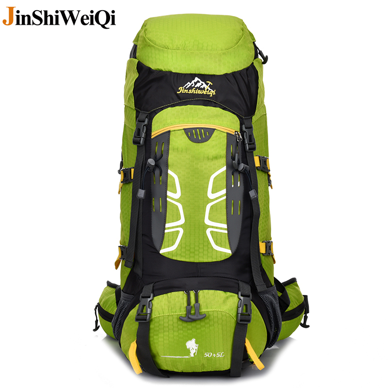 Waterproof Outdoor Backpack Camping Bags Climbing Backpacks External Frame Travel Hike Sports Bag Hiking Rucksack 33*20*60cm outad 60 5l outdoor water resistant nylon sport backpack hiking bag camping travel pack mountaineer climbing sightseeing hike