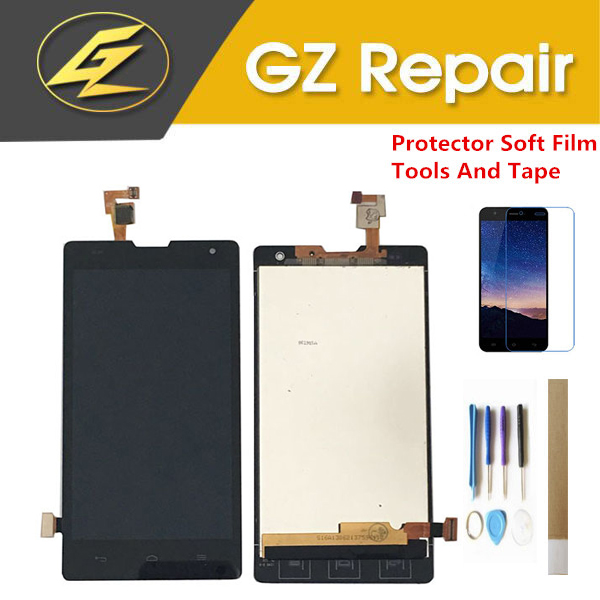 Pour Huawei Honor 3C G740 H30-U10 H30-L02 H30-L01 H30-T00 ÉCRAN LCD Avec Capteur Tactile En Verre Digitizer Assemblée Avec Des Kits