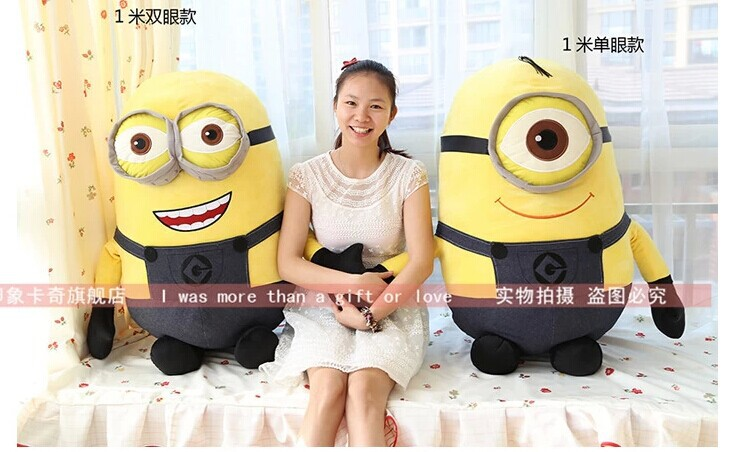 Movie & TV Despicable ME Stuffed plush Pegman 100cm plush toy doll gift w2150 despicable me unicorn minion stuffed