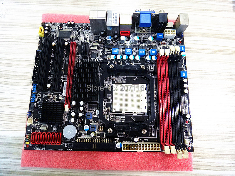 ФОТО Original motherboard for Colorful C.A780T TWIN V15 fully integrated support for DDR2 / DDR3 / AM2 / AM3 CPU
