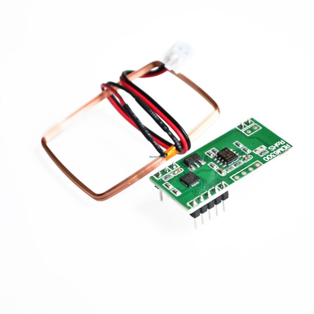! UART 125Khz EM4100 RFID Card Key ID Reader Module RDM6300 (RDM630) For! UART 125Khz EM4100 RFID Card Key ID Reader Module RDM6300 (RDM630) For